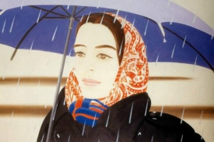 alex_katz_the_blue_umbrella