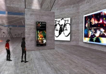 Second Life Art Gallery