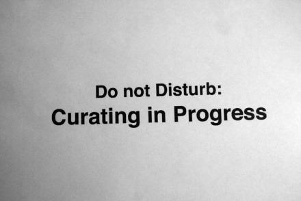 Curating in Progress